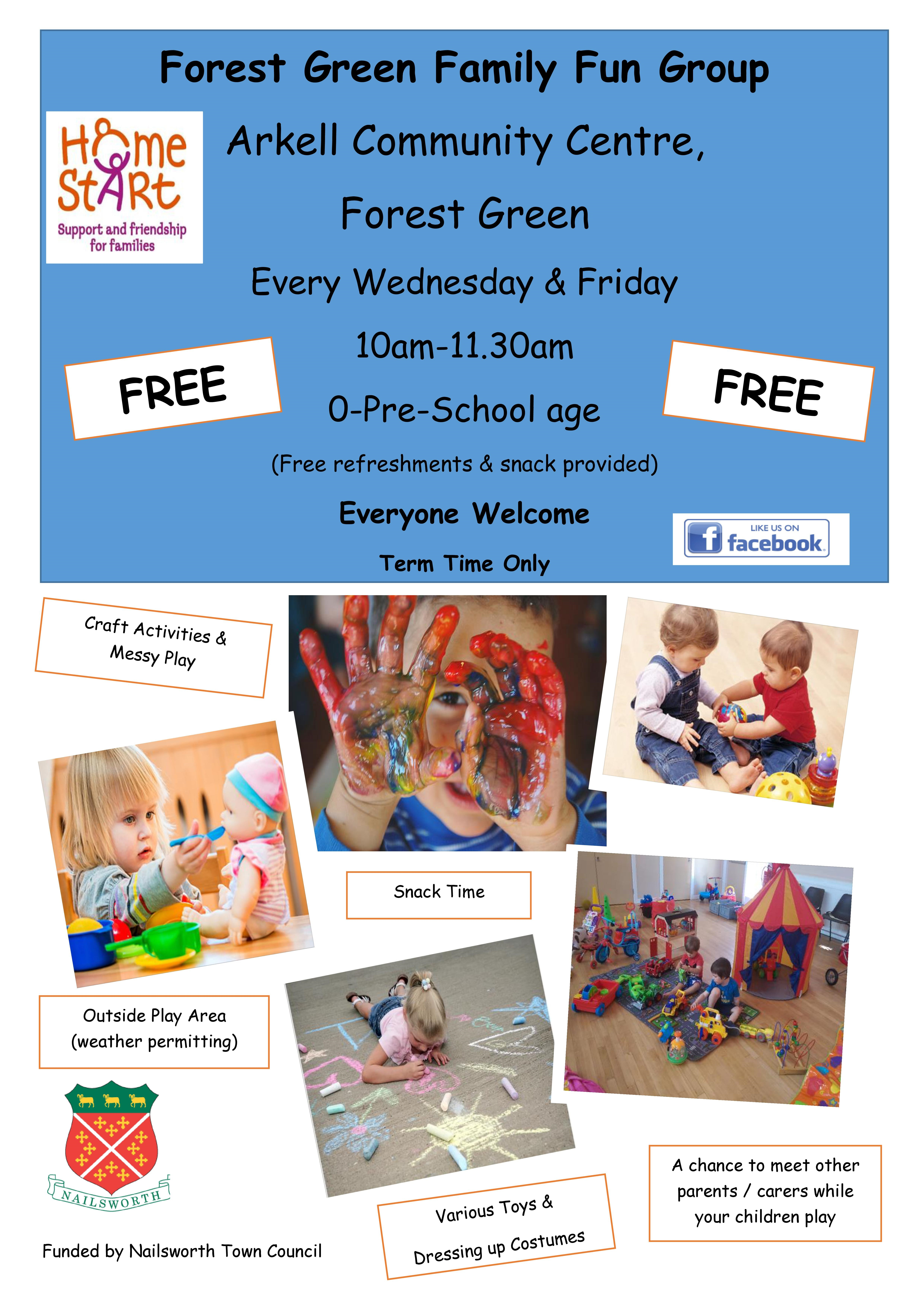 Forest Green Family Fun Group Home Start Stroud District